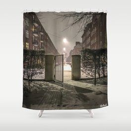Winter is apparently already here Shower Curtain