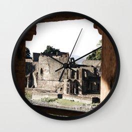 Ruins all around Wall Clock