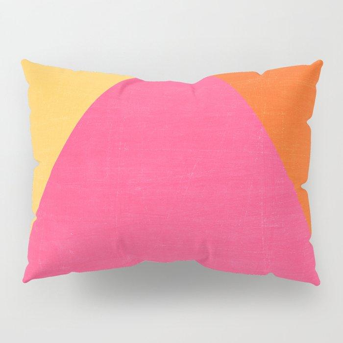 mod triangles - summer  Pillow Sham