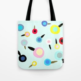 Summer wine poppies Tote Bag