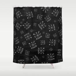 Vegvísir Shower Curtain