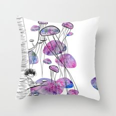 swim Throw Pillow