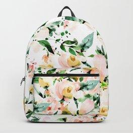 Flowered Backpack