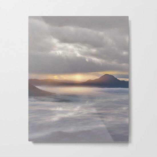 Magical Sunset V Metal Print