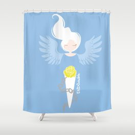 Endometriosis & Depression - Commissioned Work Shower Curtain
