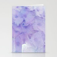 hydrangea Stationery Cards featuring hydrangea by clemm