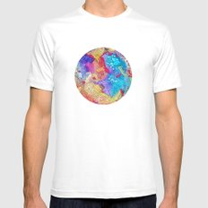 Reef #2 Mens Fitted Tee MEDIUM White