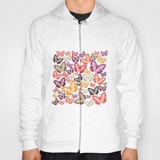 butterflies pattern Hoody