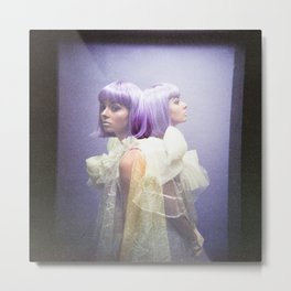 Oh Thumbelina - Holga Double Exposure Metal Print