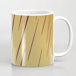 wild design ethnic lines on Gold Coffee Mug