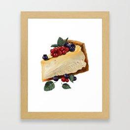 Fruitcake Framed Art Print