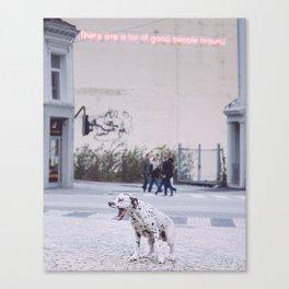 Good people Canvas Print