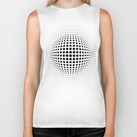 dots Biker Tanks featuring dots by siloto