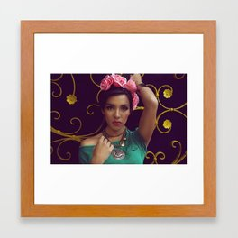 Paulina Mexico Framed Art Print