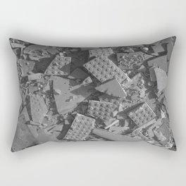 Broken Bricks Rectangular Pillow