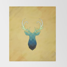 Deer Throw Blanket
