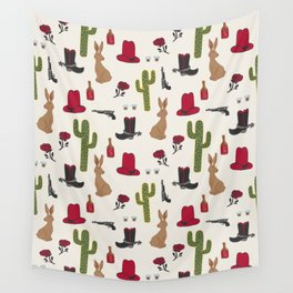 Western Repeat Wall Tapestry