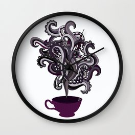 The drink you spilled all over me Wall Clock