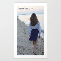 Hampton Ivy  Art Print