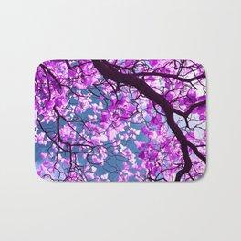 purple tree XIX Bath Mat