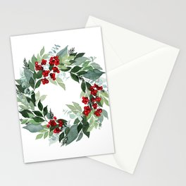 Holly Berry Stationery Cards