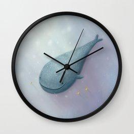 Happy Whale Shark Wall Clock