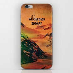 Wilderness Seeker iPhone & iPod Skin