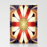 shield Stationery Cards featuring Shield by Deborah Benoit