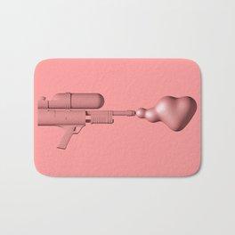 Bubble Gum Gun - Make Love Not War Bath Mat