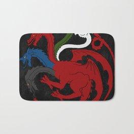 Fantastic Heraldry: Chromatic Dragon Bath Mat