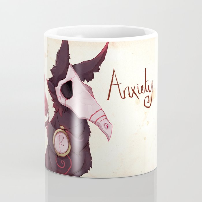 Real Monsters- Anxiety Coffee Mug
