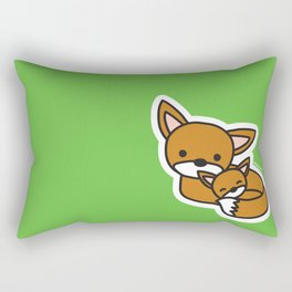 Sweet Fox Rectangular Pillow