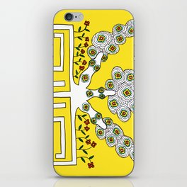 Rooted women iPhone Skin