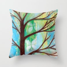 The blue hour  Throw Pillow