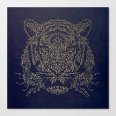 Ornamental Tiger Canvas Print