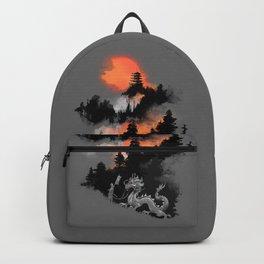 A samurai's life Backpack