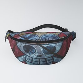 Pirate flag with Dark Forest 1 Fanny Pack