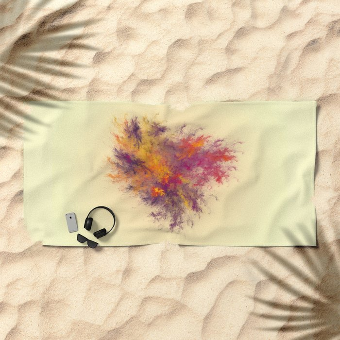 from the heart Beach Towel