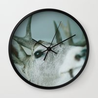 fargo Wall Clocks featuring mounted by sara montour