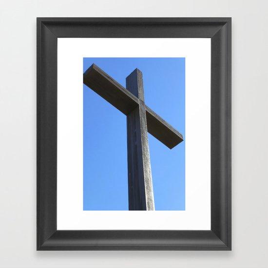 He is Risen! Framed Art Print