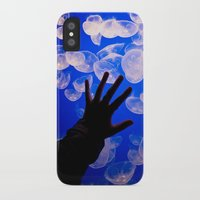 life aquatic iPhone & iPod Cases featuring Life Aquatic by Michelle Fay