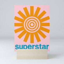 Superstar Mini Art Print