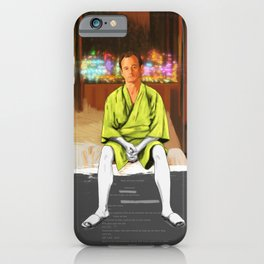 Lost in translation | Bill Murray | Painting iPhone Case