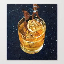 Space Date Canvas Print