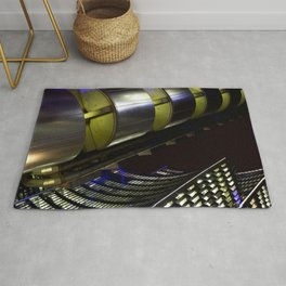 Lloyds of London Abstract Rug