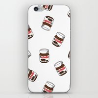 nutella iPhone & iPod Skins featuring Nutella by Iotara