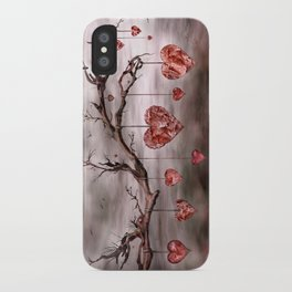 The new love tree iPhone Case