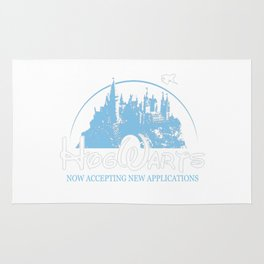 HarryPotter Funny Hogwarts Now Accepting Rug