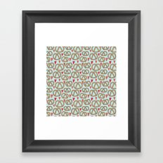 Pattern Project #43 / Pretzel Love Framed Art Print