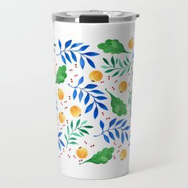 Lovely leaf and fruit plant dream Travel Mug